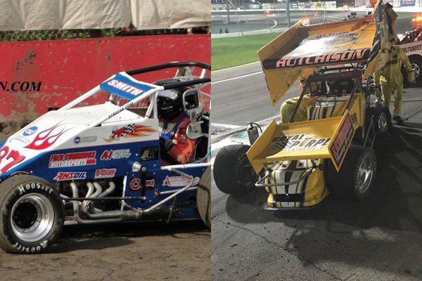 "Tyler ""TJ"" Smith's last season in USAC & Davey Hamilton's last appearance at Irwindale"